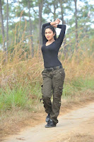 Amala Paul in Tight Black T-Shirt and Pants lovely cute Photos
