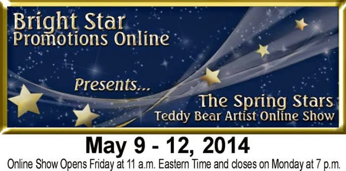 http://www.bright-star-promotions.com/OnlineShow/TheSpringStars-May2014TeddyBearShow.htm