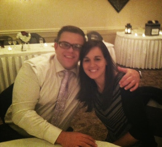 Mike and I at Cousin Steven's Wedding