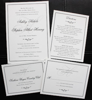 Convites de casamento clear, limpos e sem muitas imagens