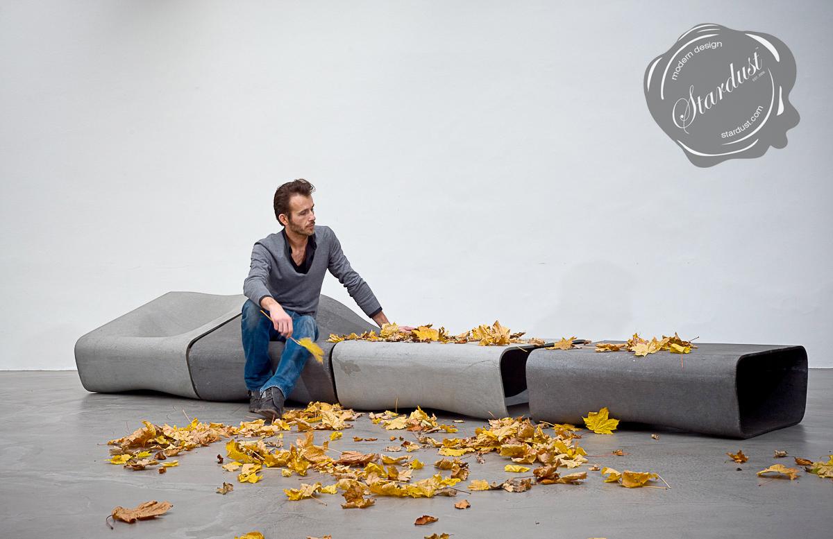 modern interior design Designer outdoor Concrete Modern Seat