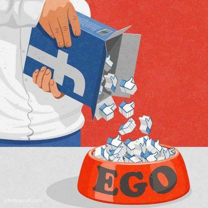 Banyak Like Banyak Pula Ego Yang Kita inginkan,