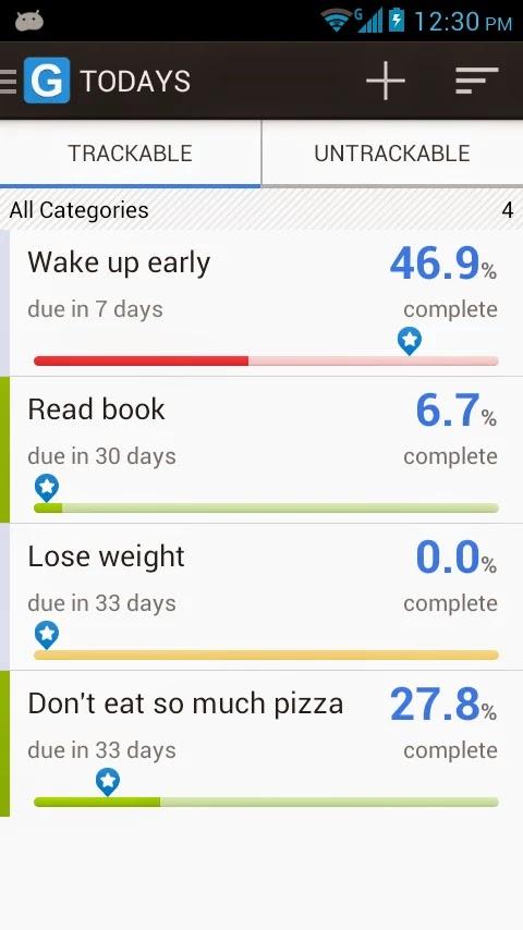Lleva el control de tus tareas con Goal Tracker