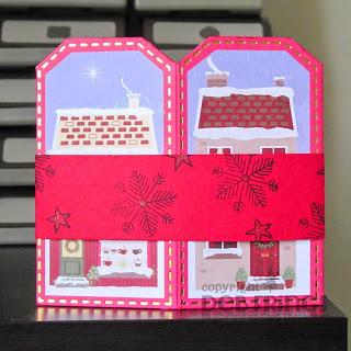 Tag Card back - photo by Deborah Frings - Deborah's Gems