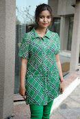 Swathi Glam photos in green-thumbnail-20