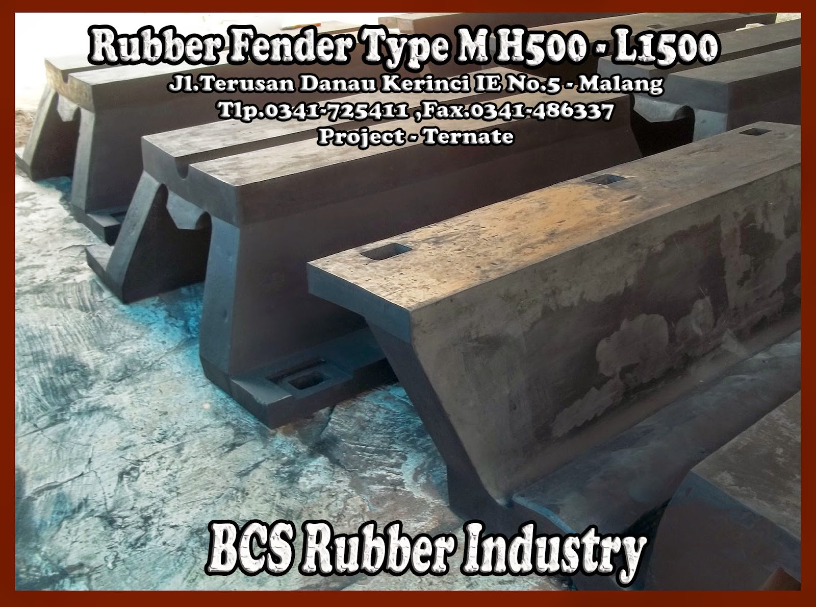 """RUBBER FENDER TYPE M"""