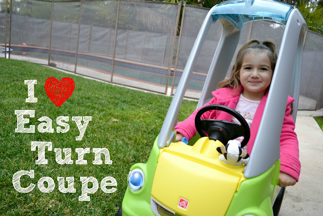 #TestDriveBlogger #EasyTurnCoupe, Step2 Easy Turn Caption This Contest, Step2 Easy Turn Coupe, Step2 Easy Turn Coupe Giveaway, Step2 Easy Turn Coupe Review, The Best Ride on Car for Kids,