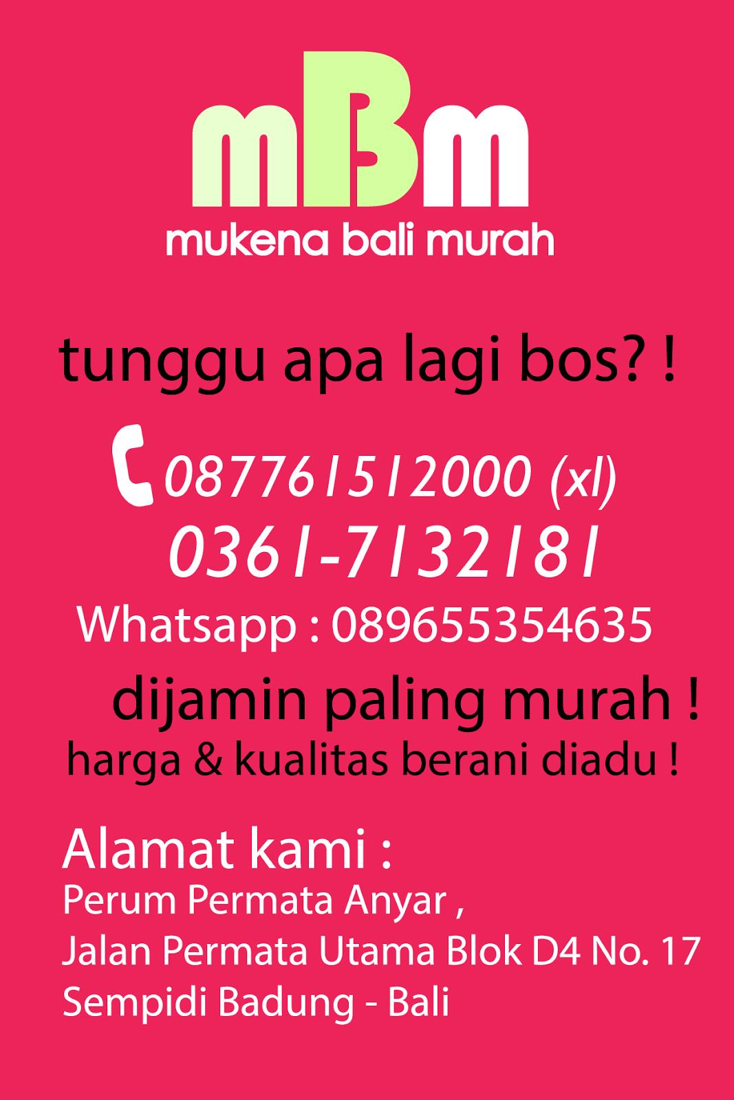 Mukena Bali