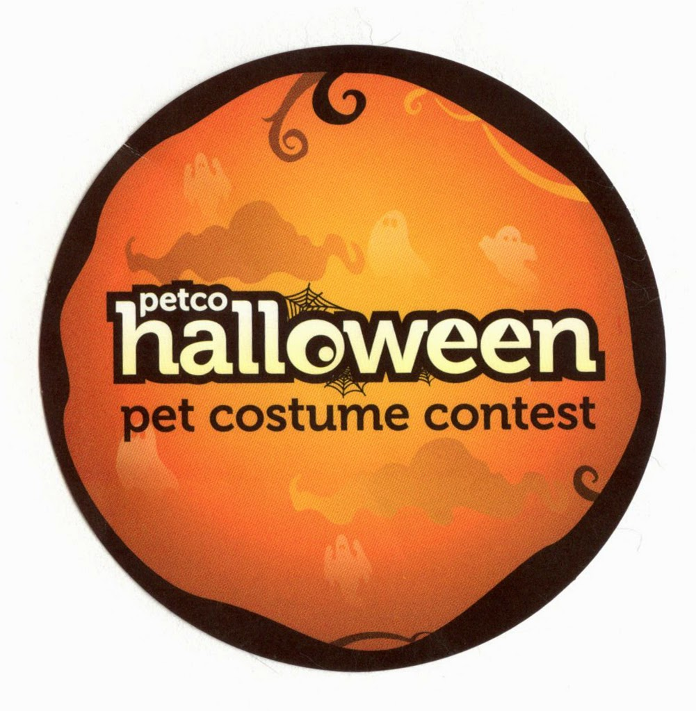 Petco Halloween Costume Contest Sticker