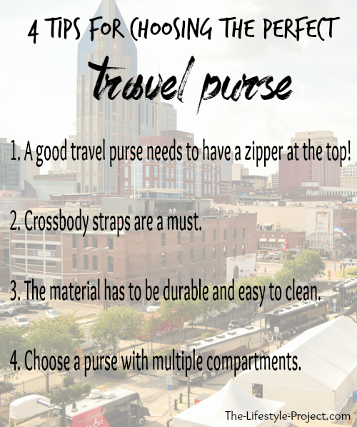 Which purse should I pack for travel?