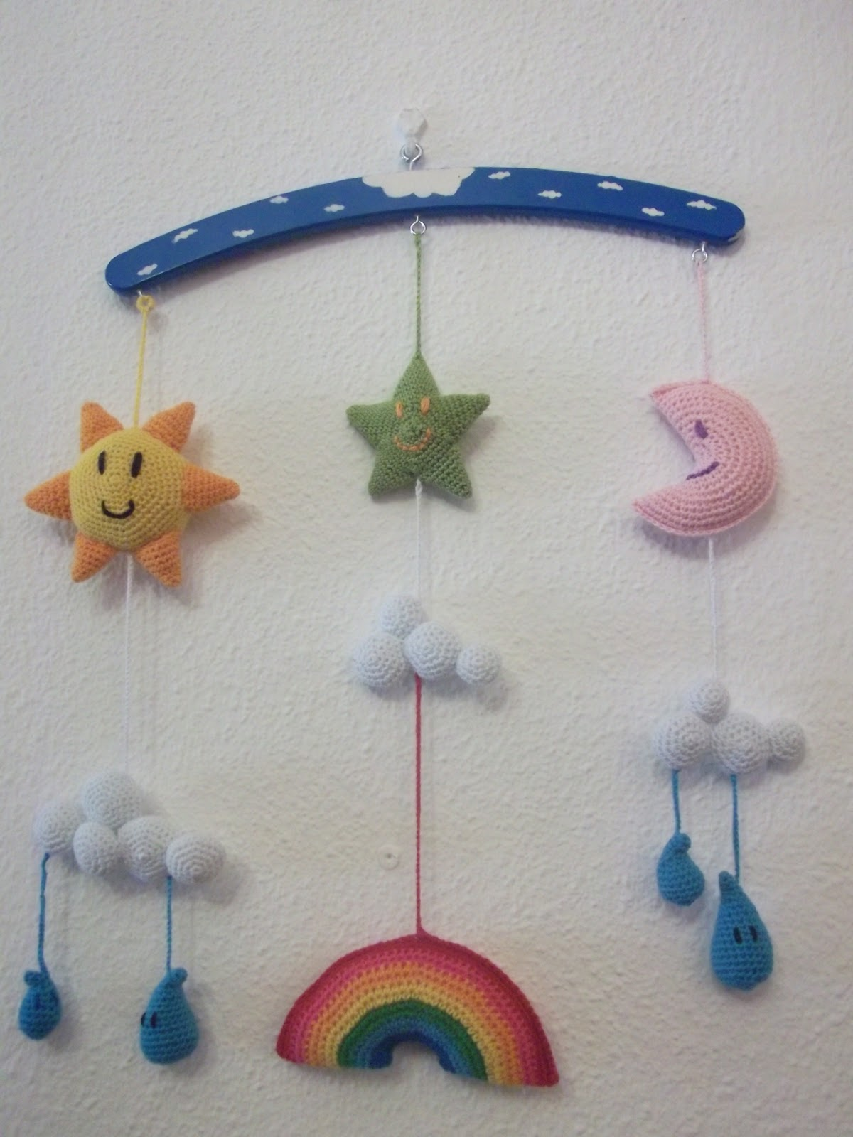 Ganchi ecos movil de bebe - Movil para cuna bebe ...