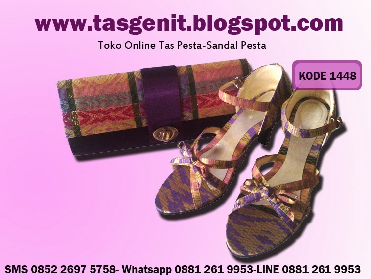 tas pesta,clutch bag and shoe, dompet pesta