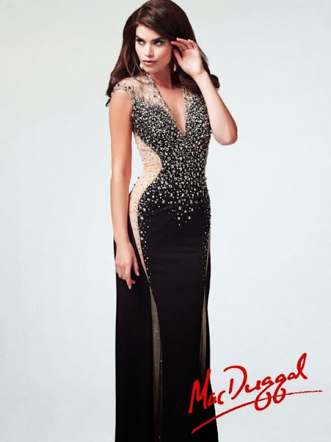 Mac Duggal stylish winter prom dresses Collection 2013-2014 For Girls & Women USA and UK fashion Trend