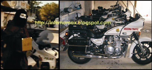 Motocicleta utilizada en el video Rapto de Gustavo Cerati