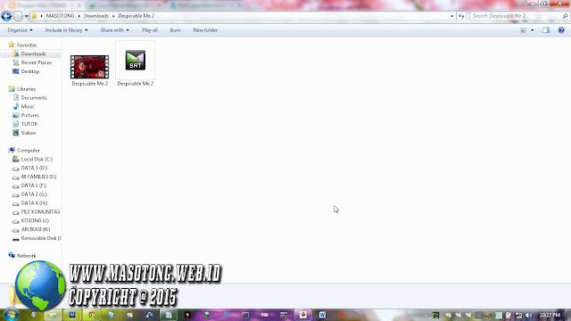 cara menggabungkan subtitle dengan film di vlc player
