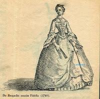 De Brugse reuzin Fedelia 1749
