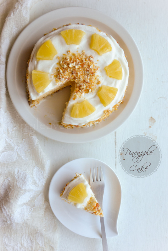 Pineapple Layer Cake | Recipe with step by step pictures ...