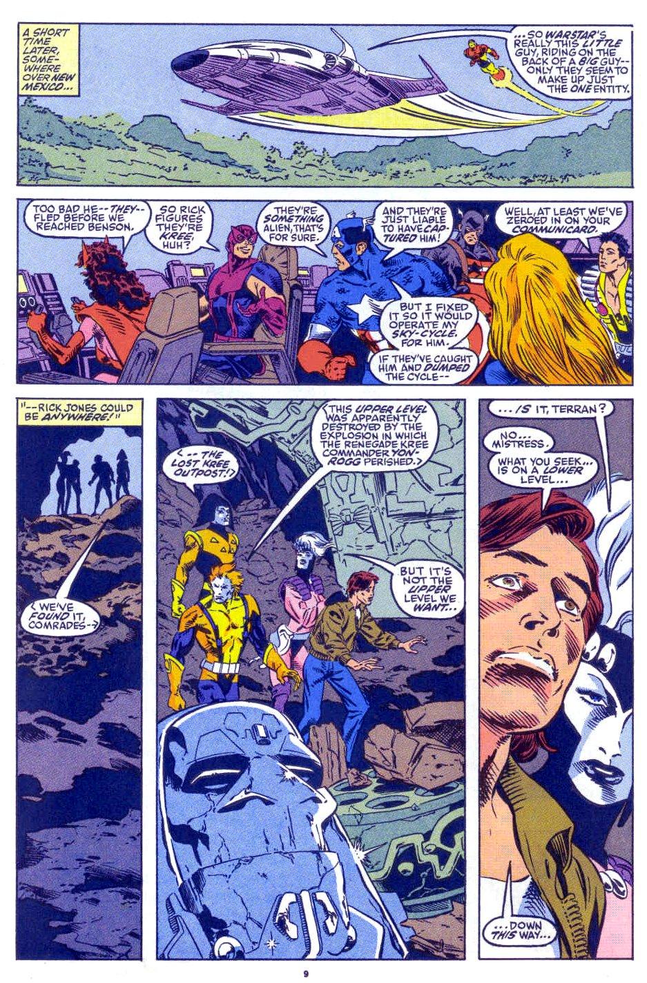 Captain America (1968) Issue #398b #332 - English 8