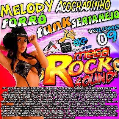 Cd Mega Rock Sound - Misturado Vol. 09