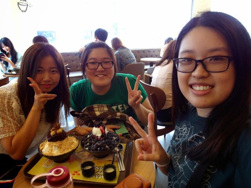 Ewha University Summer Studies Travel Seoul Edae lunarrive singapore sulbing patbingsoo