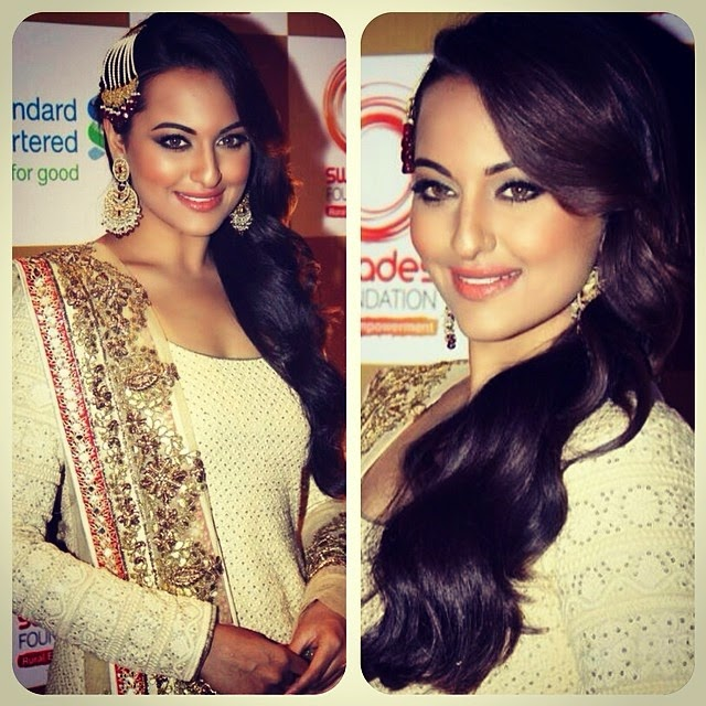 Sonakshi Sinha at Swades foundation fundraiser last night!