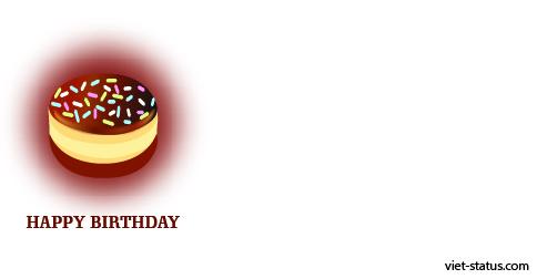 Status chúc mừng sinh nhật - mẫu 15