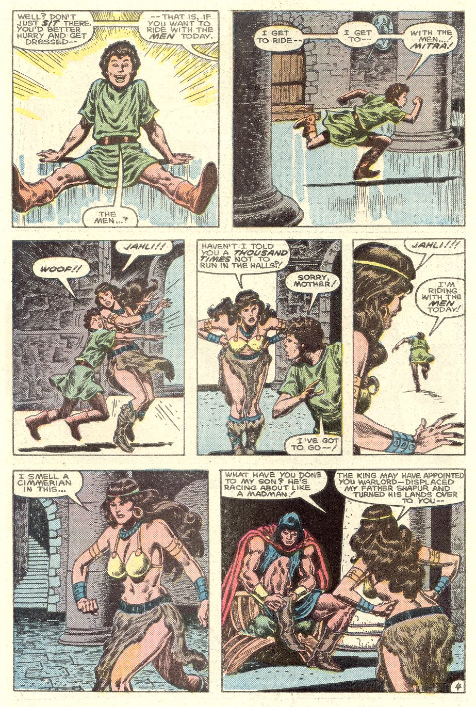 Conan the Barbarian (1970) Issue #182 #194 - English 5
