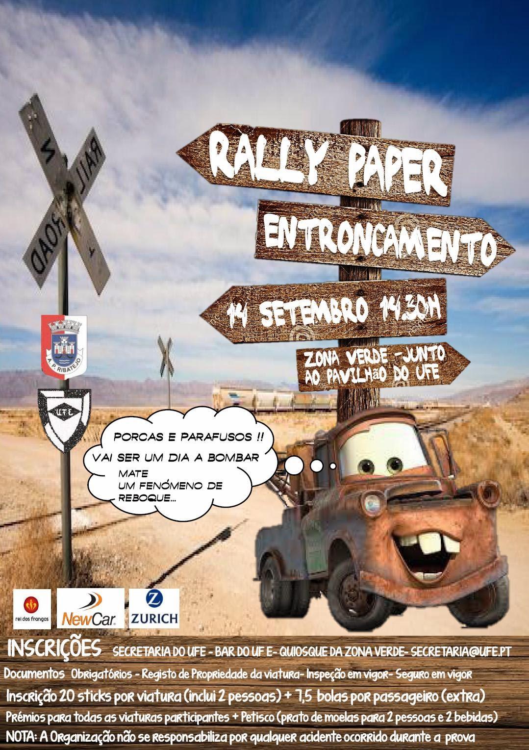 Rally Paper - UFE/APR