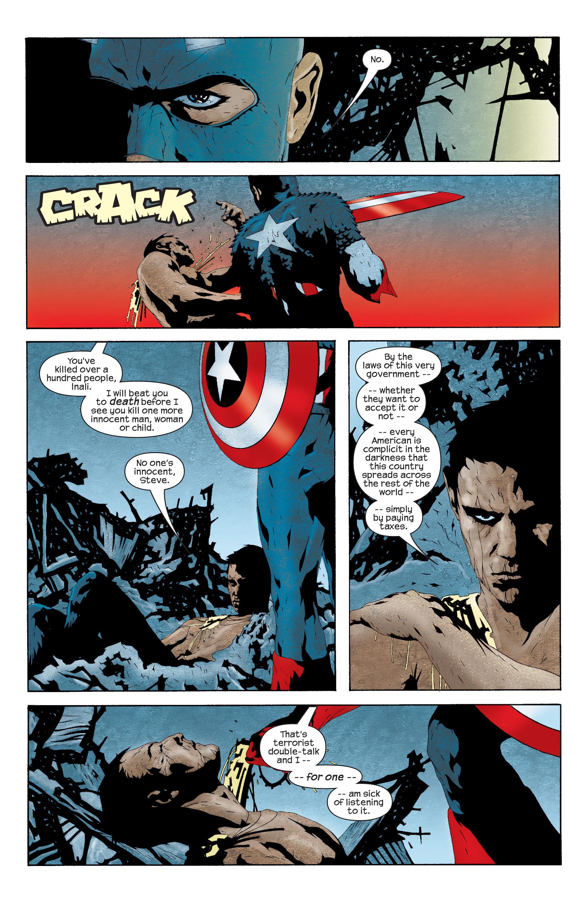 Captain America (2002) Issue #11 #12 - English 16