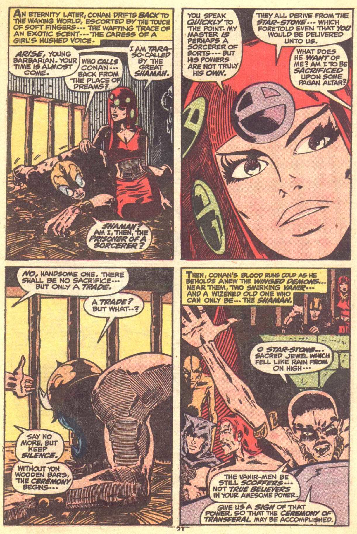 Conan the Barbarian (1970) Issue #22 #34 - English 15
