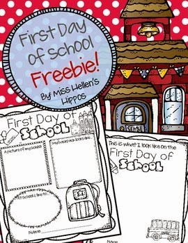 http://www.teacherspayteachers.com/Product/First-Day-of-School-FREEBIE-1247179