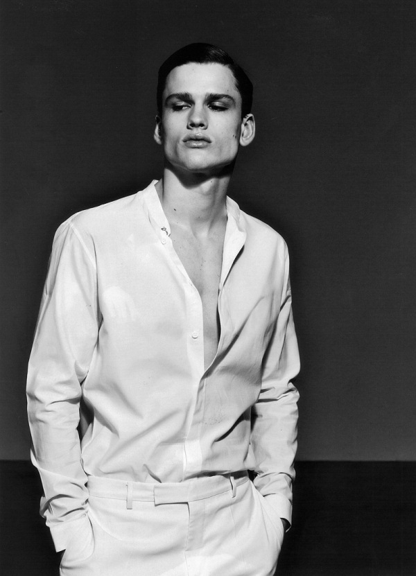 Male model Simon Nessman
