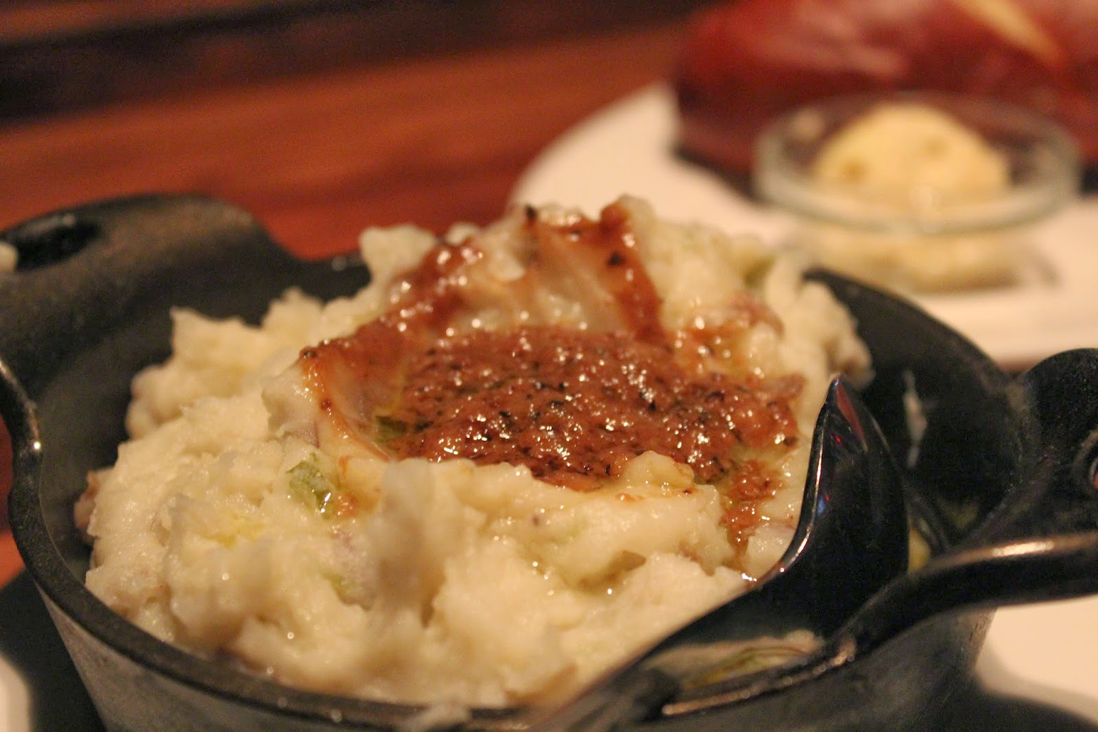 Garlic mashed potatoes at Del Frisco's Grille