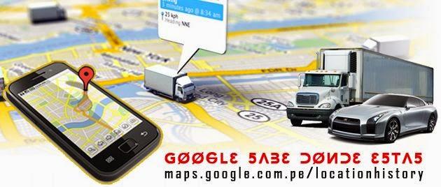 Google Maps ha estado rastreando cada uno de tus movimientos y puedes verlos en la web