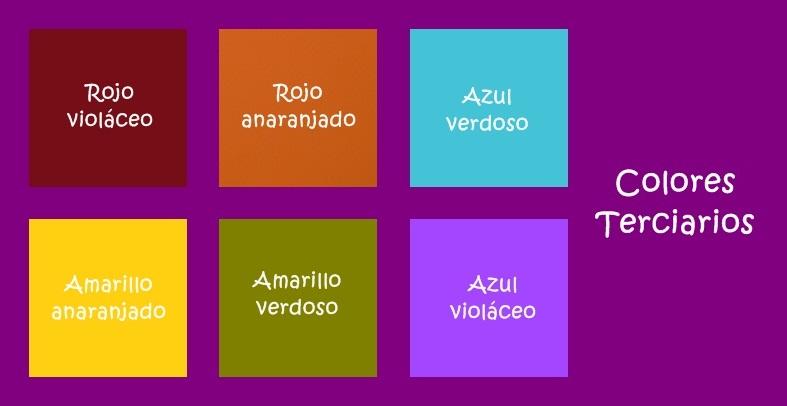 Cuales son los nombres de los colores terciarios imagui for Cuales son los colores minimalistas