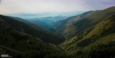 View from Chata Stefanika Low Tatra