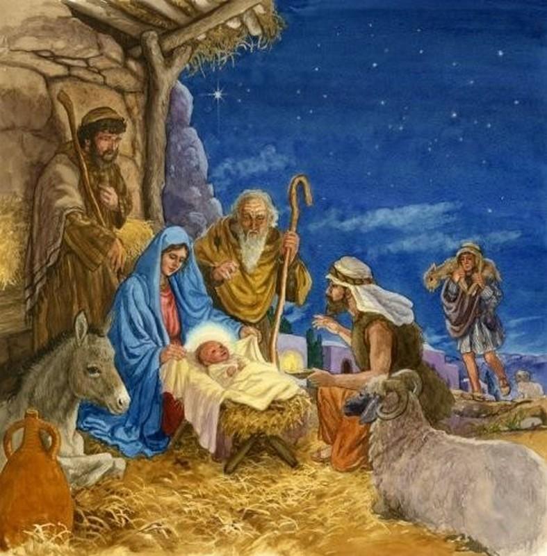 Bienvenue chez le rat mutant carte ancienne la nativite jesus christ - Nacimiento para navidad ...