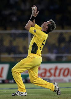Brett Lee Catch