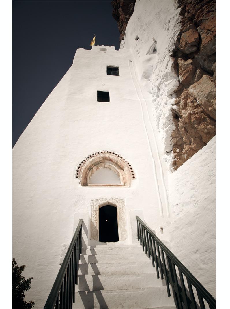 monastère panagia hozoviotissa