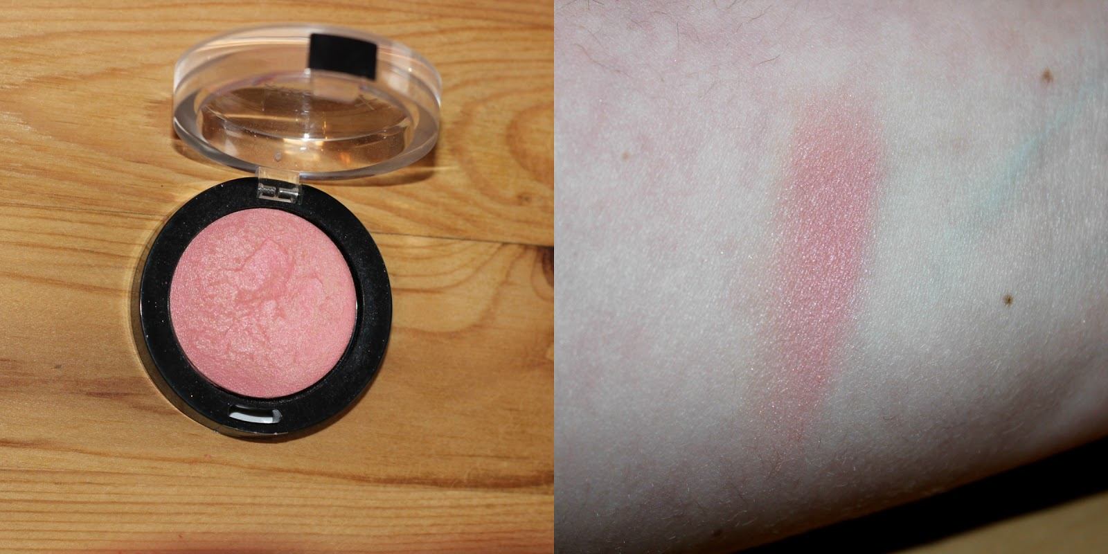 Maxfactor Creme Puff Blush In Lovely Pink Swatch