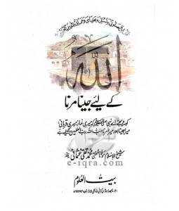 Allah ke-liye-jina-marna Molana Mohammad Taqi Usmani