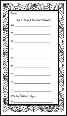 math worksheet : the best of teacher entrepreneurs september 2015 : Halloween Writing Activities 5th Grade