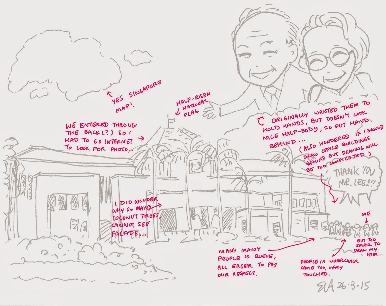 Tribute to Mr Lee Kuan Yew and his wife