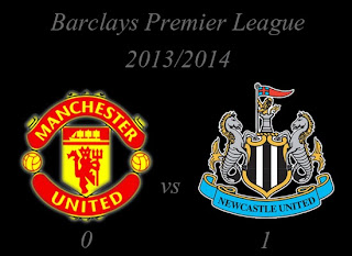 Manchester United v Newcastle United Result November 2013