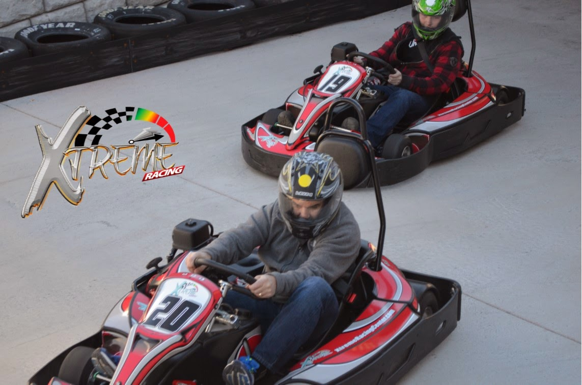 Race Go-Carts in Pigeon Forge, TN