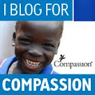 Click this adorable face to find out how YOU can sponsor a child through Compassion!