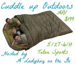 Teton Sports Mammoth Sleeping Bag Giveaway