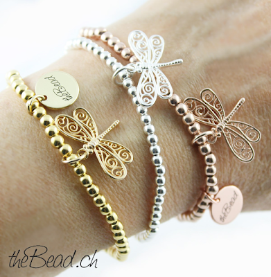 Schweizer Schmuck Onlineshop theBead Libelle Armbänder für Damen Schmuck Shop