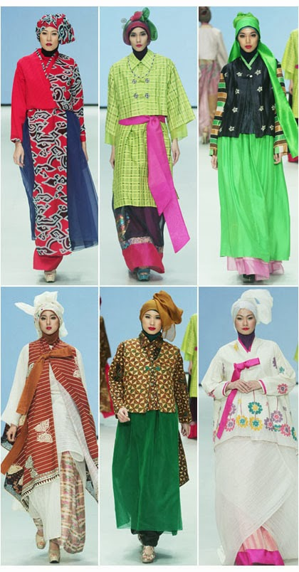 Foto Model Baju Busana Muslim Terbaru 2014 Hanbok Ala Korea