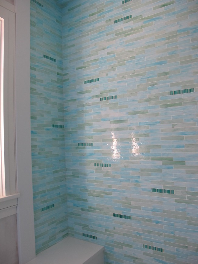 To Da Loos: Shower Wall Tile Design Ideas